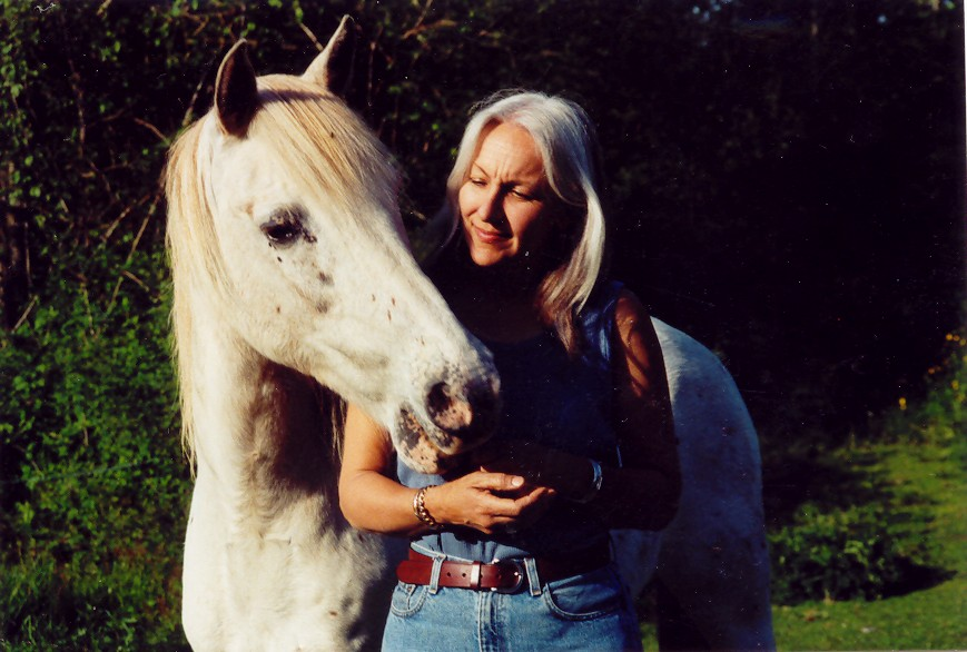 Cindy and Horse Picture